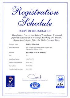 ISO9001 2015合格業務